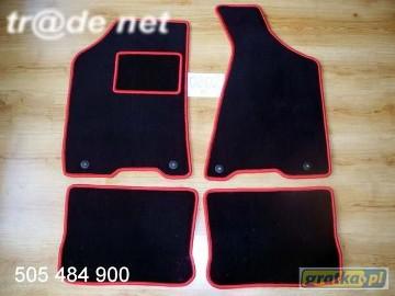 AUDI 80 B4 1991-1994 najwyższej jakości dywaniki samochodowe z grubego weluru z gumą od spodu, dedykowane Audi 80