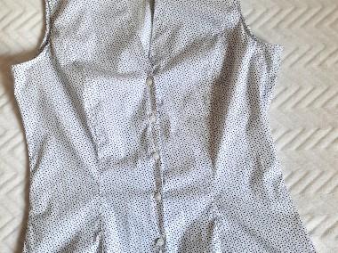 Taliowana bluzka bez rękawów  42  H&M-1