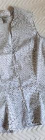 Taliowana bluzka bez rękawów  42  H&M-4