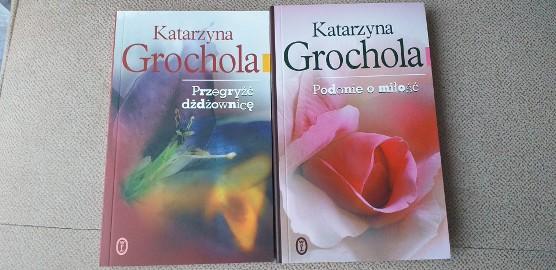 Książki Katarzyny Grocholi