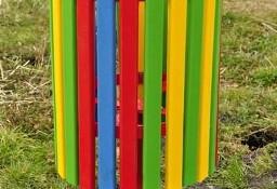 Kosz na śmieci duży HDPE plac zabaw