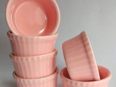 Różowa Kokilka Ramekin żaroodporna OK8 Produkt POLSKI-1