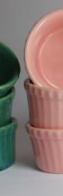 Różowa Kokilka Ramekin żaroodporna OK8 Produkt POLSKI-4