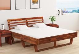 vidaXL Rama łóżka, lite drewno akacjowe, 180x200 cm288314
