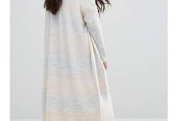 (38) Firmowy, ekskluzywny, długi sweter/ kardigan z Londynu/NOWY