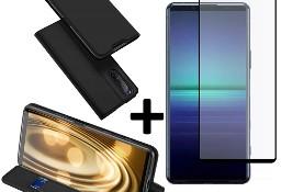 Etui DUX DUCIS + szkło do Sony Xperia 5 II Czarny