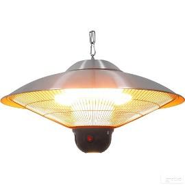 Wisząca lampa grzewcza halogenowa zdalnie sterowana 2,1kW
