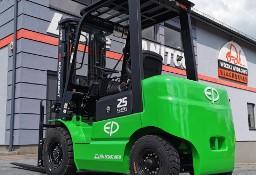 Nowy elektryczny wózek widłowy EP EFL252 Przesuw boczny 2.5t 3.6m