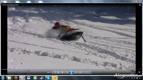 Ponton carvingowy Snowslider
