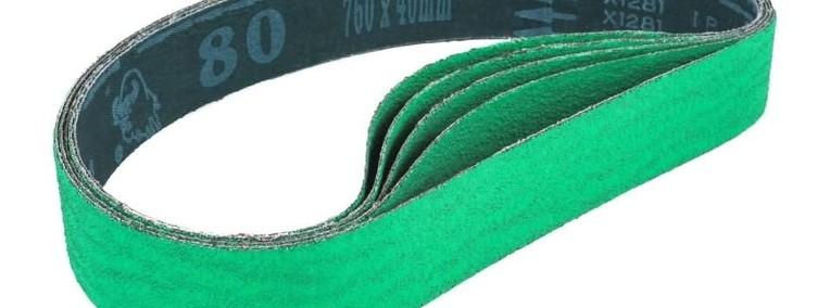Taśma szlifierska z cyrkonu 760 x 40 mm ziarnistość 80-1
