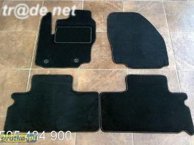 Ford Galaxy od 2006 do 2010 r. DUŻY WZÓR 2 rzędy najwyższej jakości dywaniki samochodowe z grubego weluru z gumą od spodu, dedykowane Ford Galaxy-1