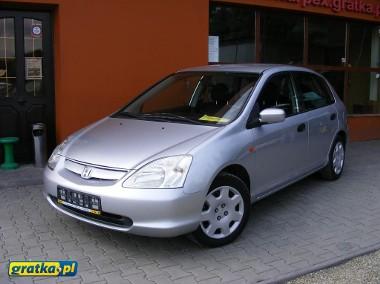 Honda Civic VII Ctdi klimatyzacja, opłacona-1