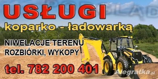 Roboty Ziemne Koparko Ładowarka Cat, Jcb, Case -ŚLĄSK ,Tarnowskie Góry