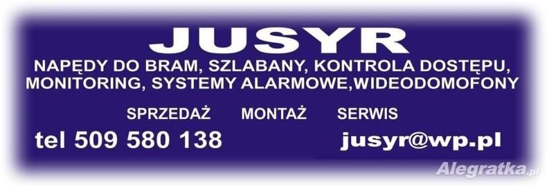 JUSYR - Montaż automatyki do bram wjazdowych renomowanych firm Faac
