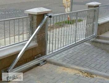 Brama przesuwna wjazdowa prosta Komplet do montażu