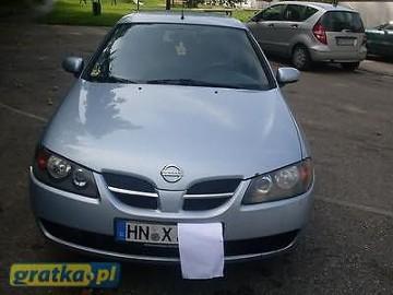 Nissan Almera II ZGUBILES MALY DUZY BRIEF LUBich BRAK WYROBIMY NOWE