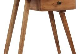 vidaXL Stolik nocny z litego drewna akacjowego, 45 x 32 x 55 cm 245662