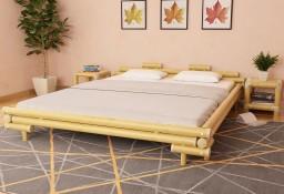 vidaXL Rama łóżka, bambusowa, 180 x 200 cm 247292