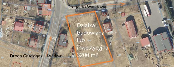 Działka budowlana Kwidzyn, ul. Bądki