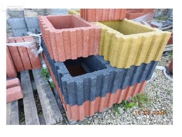Donica betonowa Prostokątna Duża 60x40x25cm