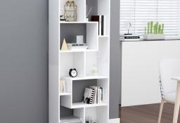 vidaXL Regał na książki, biały, 67x24x161 cm, płyta wiórowa 801877