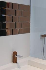 Płytki lustrzane - kafle lustrzane z luster francuskich LUXFORMAT.  Srebrne, złote, miedziane, grafitowe. Fazowane lub proste szlifowane.-2