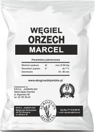 Węgiel ORZECH MARCEL- max. 30 MJ/kg workowany po 25kg