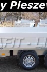 BR-020 przyczepa Condor II, 330x180cm, ciężarowa towarowa, burty aluminiowe, DMC 2700kg-2