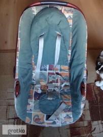 fotelik samochodowy do 10 kg nosidełko bujaczek