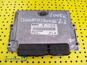 Komputer silnika Fiat Ducato / Peugeot Boxer / Citroen Jumper 2.2 Jtd / Hdi model 2005 Fiat Ducato