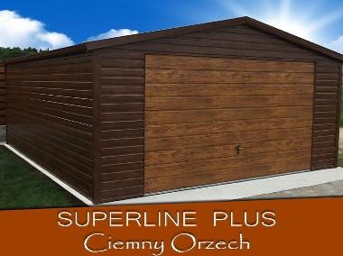Garaże Blaszane akrylowane,ocynkowane,drewnopodobne-1