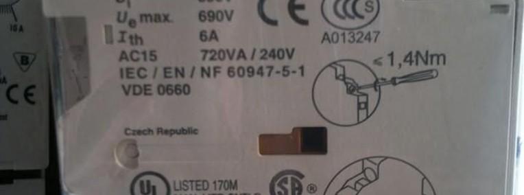 Styk pomocniczy 1Z 1R montaż boczny GVAN11 Schneider Electric-1
