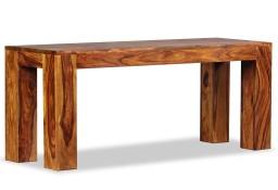 vidaXL Ława, lite drewno sheesham, 110 x 35 x 45 cm244352