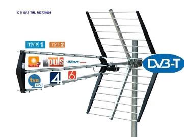 Dzierżoniów,Świdnica,Bielawa,Sobótka,Kobierzyce - montaż anten satelitarnych tv