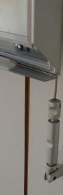 Aluminiowe ramy zatrzaskowe na plakaty wiszące w systemie linkowym-4