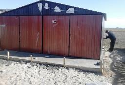 Garaże blaszane, wiaty, hale, konstrukcja stalowa.