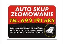 Kupię każde auto Racibórz Kietrz Głubczyce Tel 692 191 585