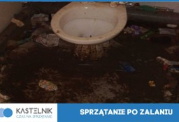Dezynfekcja, sprzątanie po zalaniu, wybiciu kanalizacji Limanowa Kastelnik