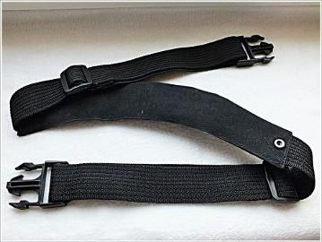 Oryginalny pasek z gumą do torby aparatu lub kamery