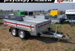 TM-213 przyczepa 254x151x30cm, Transporter 2515/2, uniwersalna, platforma, burty, DMC 2000kg