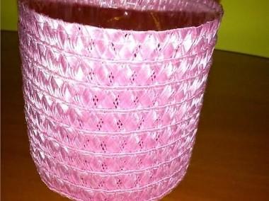 koszyczek różowy na drobiazgi-1