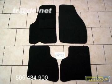 Hyundai Atos Prime 1997-2007 najwyższej jakości dywaniki samochodowe z grubego weluru z gumą od spodu, dedykowane Hyundai Atos