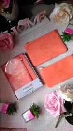 Francuski ZESTAW portfeli, portfel, saszetka, torebka, kosmetyczka, kopertówka/ NOWY w opakowaniu