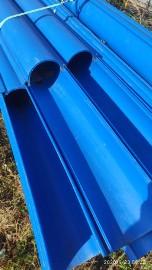 Rury osłonowe dwudzielne - niebieskie fi 110, peszle -rury arota - różne wymiary -okazja cenowa