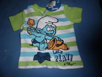 bluzeczka ze Smerfami