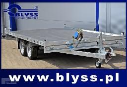 Nowa laweta niska płyta alu transport samochodów 400x212x4 cm Blyss