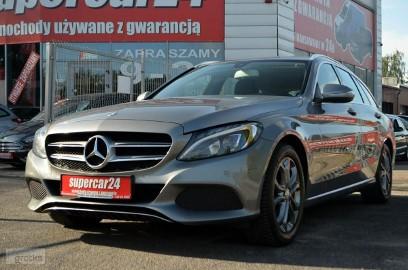 Mercedes-Benz Klasa C W205 Mercedes C 200 W205 1.6 CDi 136 KM, LED, Navi, Skóra, PDC, Gwarancja
