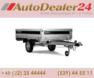 AutoDealer24.pl [NOWA FV Dowóz CAŁA EUROPA 7/24/365] 258 x 143 x 35 cm Brenderup 4260SB
