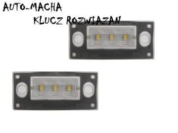 Audi A3 A4 lampki podświetlenia tablicy rejestracyjnej LED