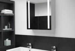vidaXL Szafka łazienkowa z lustrem i LED, 62 x 14 x 60 cm285125
